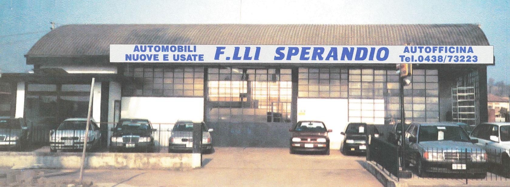 Storia dell'Azienda Auto Sperandio: 1983 - 2000