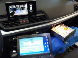 Installazione Retrocamera Rear View Audi Q5