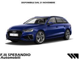 Audi A4 Avant Sline Blu Navarra Fronte 5