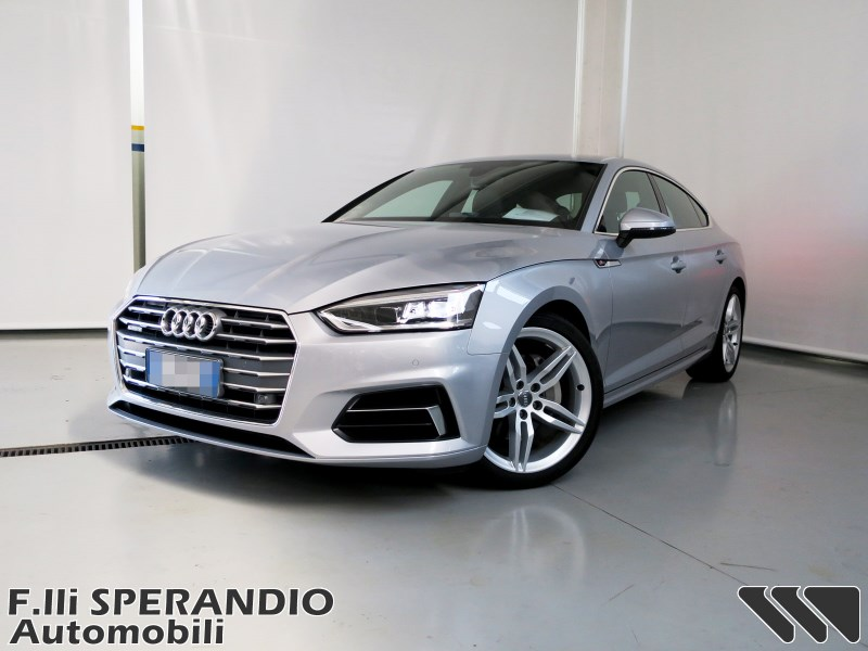 audi a5 sportback 2 0tdi 190cv quattro s tronic business sport sperandio automobili. Black Bedroom Furniture Sets. Home Design Ideas