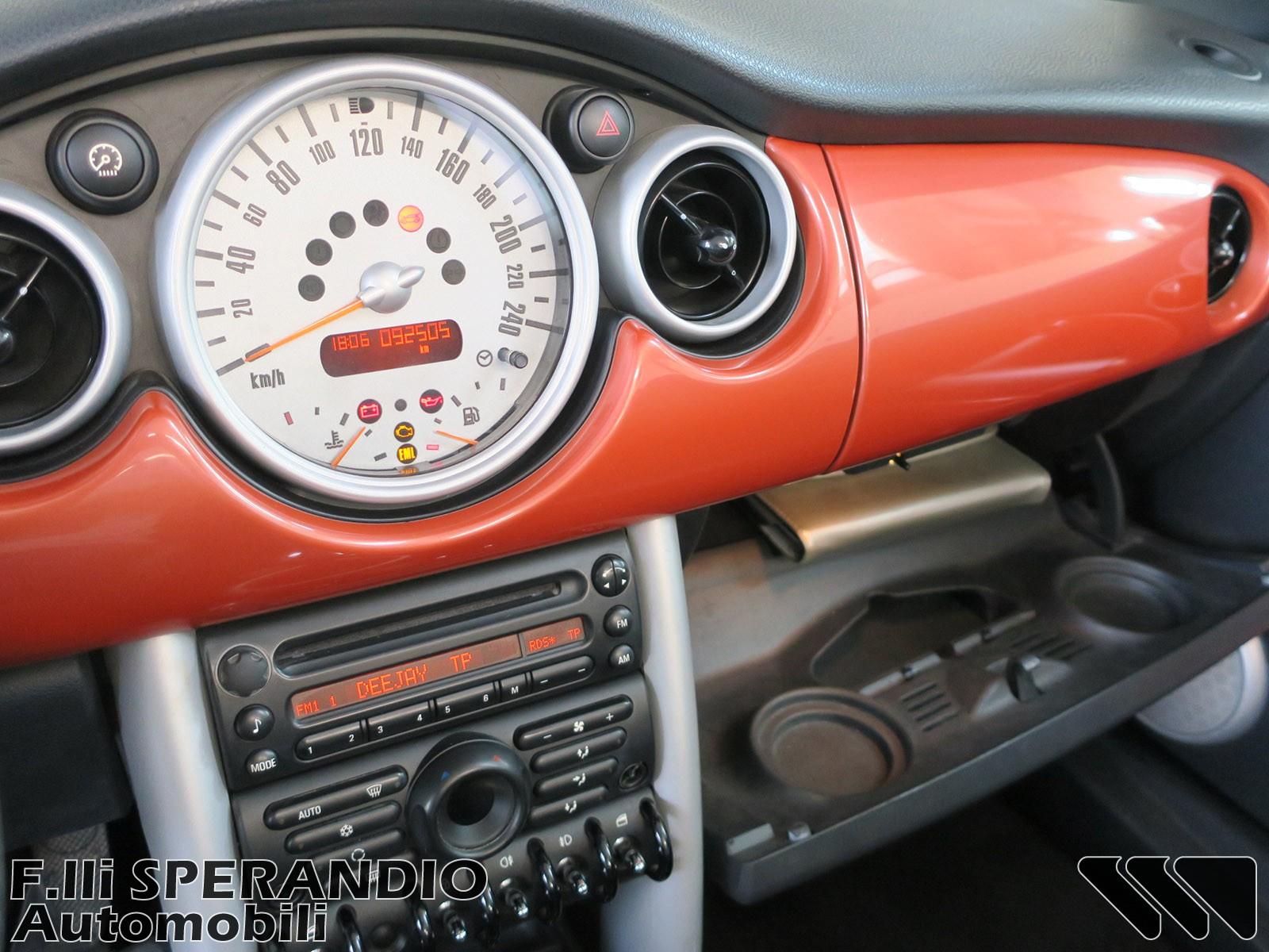 MINI Mini 1.6 16V One Cabrio-Array